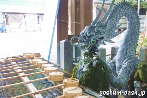 真清田神社(愛知県一宮市)手水舎
