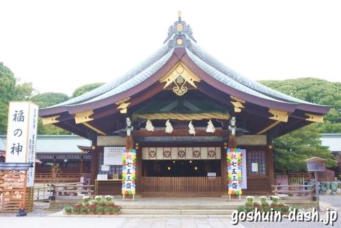 真清田神社(愛知県一宮市)拝殿