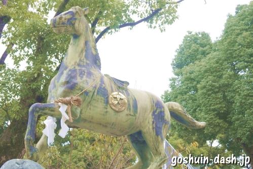 真清田神社(愛知県一宮市)神馬