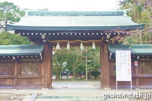 真清田神社(愛知県一宮市)東門