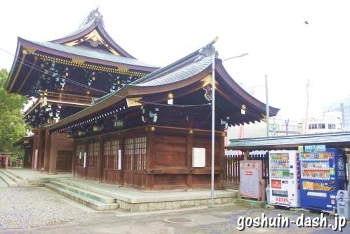真清田神社(愛知県一宮市)境内の自動販売機