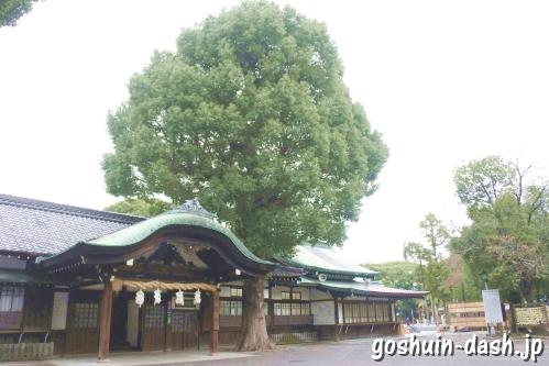 真清田神社(愛知県一宮市)社務所
