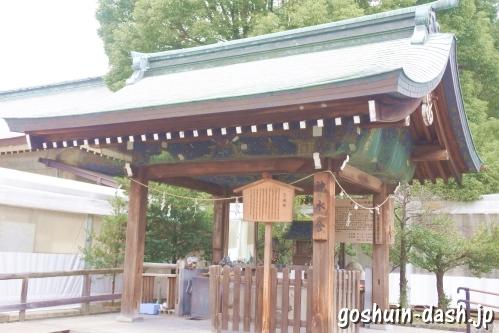 真清田神社(愛知県一宮市)神水舎