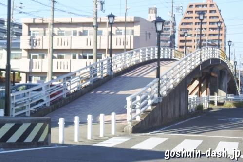 尾張大國霊神社(国府宮・愛知県稲沢市)太鼓橋(県道62号線)