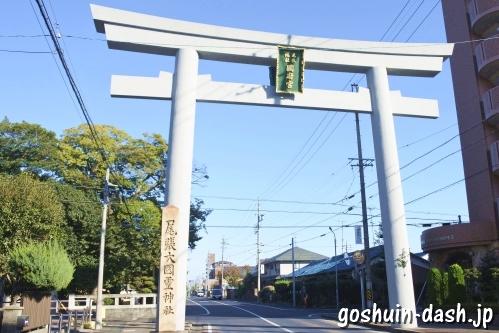尾張大國霊神社(国府宮・愛知県稲沢市)大鳥居