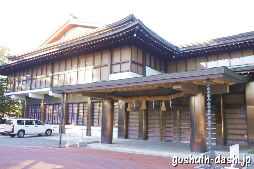 尾張大國霊神社(国府宮・愛知県稲沢市)参集所