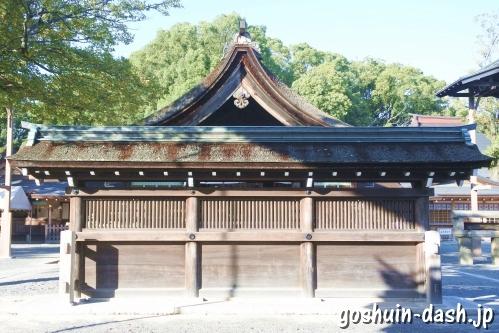 尾張大國霊神社(国府宮・愛知県稲沢市)蕃塀