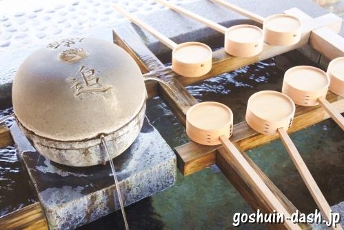 尾張大國霊神社(国府宮・愛知県稲沢市)手水舎