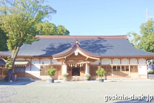 尾張大國霊神社(国府宮・愛知県稲沢市)儺追殿