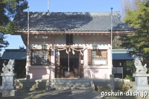 大神神社(愛知県一宮市花池)拝殿