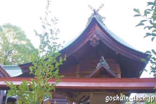 大神神社(愛知県一宮市花池)本殿