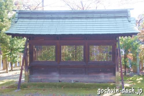 大神神社(愛知県一宮市花池)蕃塀