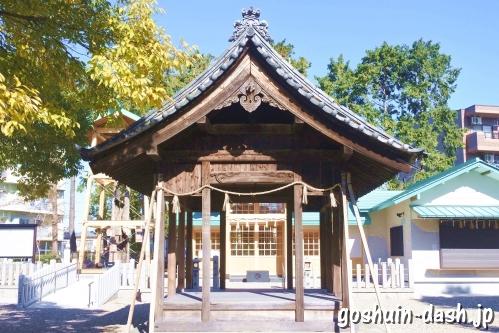 西八龍社(名古屋市北区)拝殿