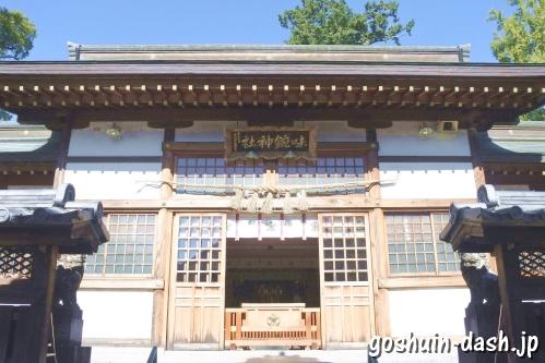 味鋺神社(名古屋市北区)拝殿