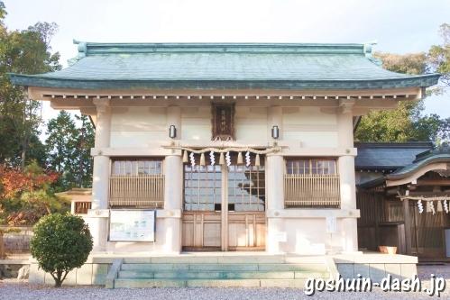 西一社貴船神社(名古屋市名東区)拝殿
