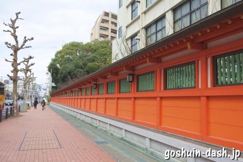金神社(岐阜市)透塀