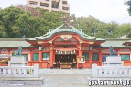 金神社(岐阜市)拝殿