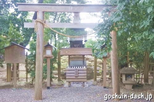 賀夫良城神社(岐阜金神社末社)