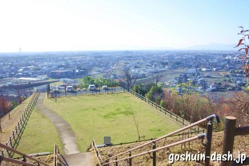 三井山(岐阜県各務原市)からの眺め