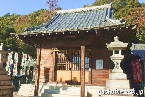 加佐美神社(岐阜県各務原市)阿弥陀堂