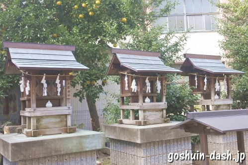 八幡神社・春日神社・出雲神社(岐阜加納天満宮境内)