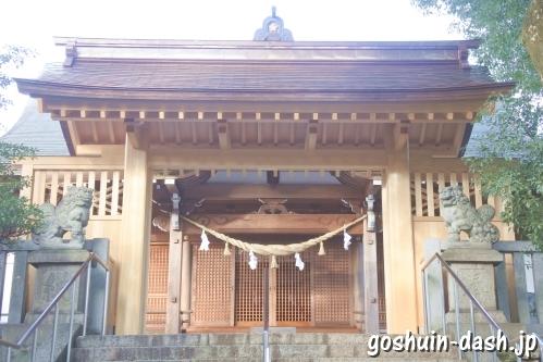 加納天満宮(岐阜市)神門