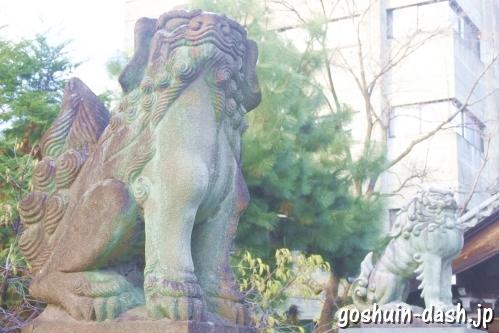 加納天満宮(岐阜市)狛犬