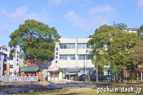 橿森神社(岐阜市)粕森公園