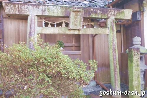 金毘羅神社(岐阜橿森神社境内社)