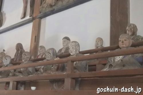 五百羅漢像(岐阜大仏正法寺)