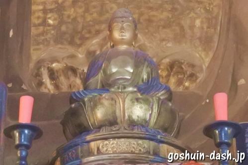 岐阜大仏(正法寺)木造阿弥陀如来坐像