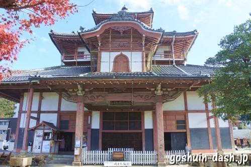 正法寺大仏殿(岐阜市重要文化財)