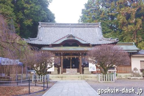 長良天神神社(岐阜市)拝殿