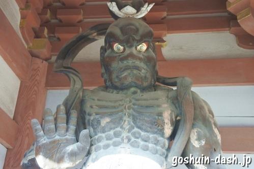 護国之寺(岐阜市)金剛力士像(仁王)