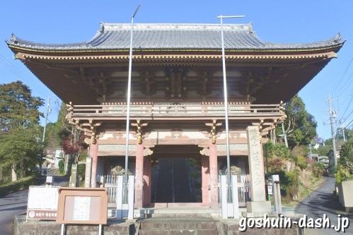 護国之寺(岐阜市)楼門