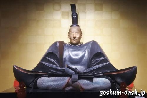 木造織田信長坐像(複製・岐阜城)