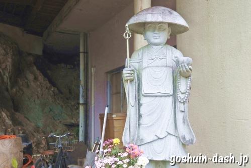 岩戸弘法弘峰寺(岐阜市)弘法大師像