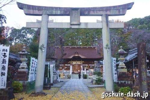 手力雄神社(岐阜県各務原市)二の鳥居