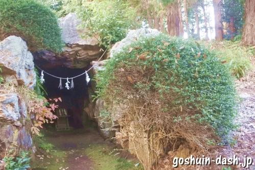 手力雄神社(岐阜県各務原市)境内古墳