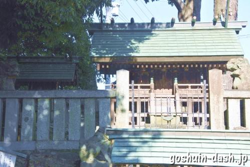 御井神社(岐阜県各務原市)境内社(神明社・御鍬神社・秋葉神社・住吉神社)