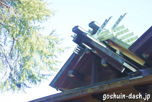 御井神社(岐阜県各務原市)本殿
