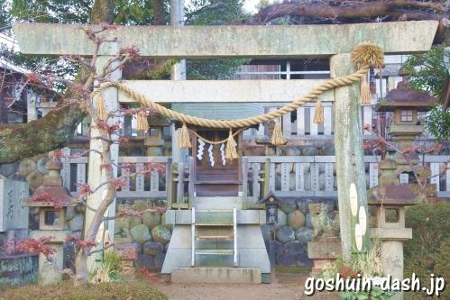 金毘羅社(村国真墨田神社境内)