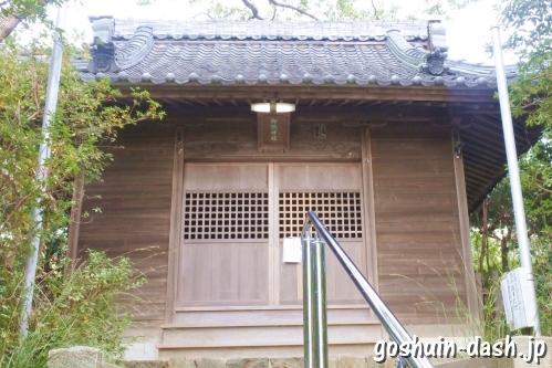 御鍬神社(愛知県蒲郡市)拝殿