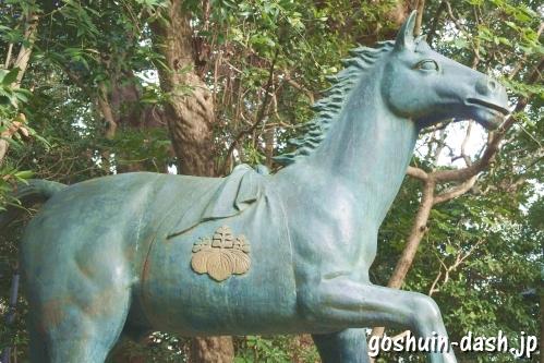 八百富神社(蒲郡市竹島)神馬