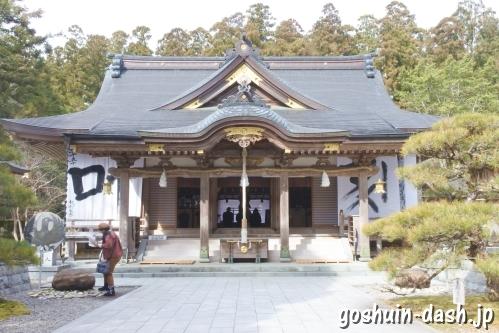 熊野本宮大社(和歌山県田辺市)拝殿