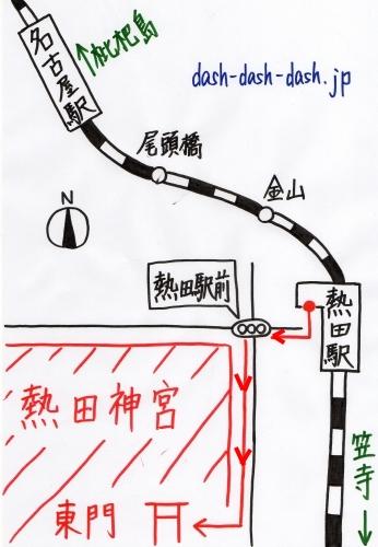 名古屋駅から熱田神宮の行き方(JRでのアクセス)