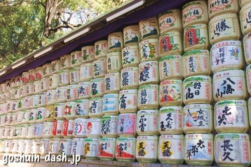 明治神宮(東京都渋谷区)清酒菰樽