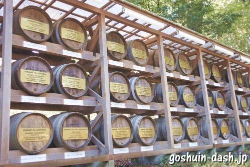 明治神宮(東京都渋谷区)葡萄酒樽
