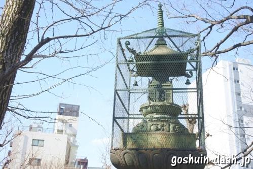 待乳山聖天 本龍院(東京都台東区浅草)宝篋印塔
