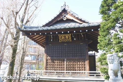待乳山聖天 本龍院(東京都台東区浅草)神楽殿